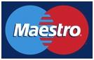 Akceptujeme platební karty Maestro
